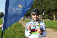 Olympic cyclist adds county gong to medal haul!